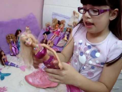 Barbie - Babi e sua coleção de Barbies
