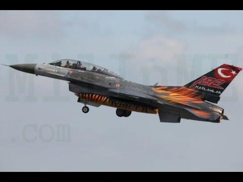 Turk Hava Kuvvetleri-Turkish Air Force (Bütün üslerimize ait bilgiler) Hell March
