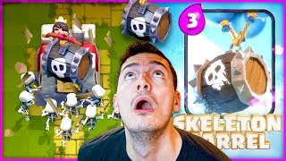 "New ""SKELETON BARREL"" HALLOWEEN UPDATE // CLaSh RoYaLe!"
