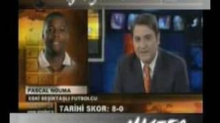 Liverpool Beşiktaş 8 0 Pascal Nouma Röportaj