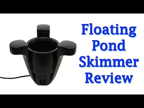 Build A Floating Pond Skimmer Diy Building Your Own