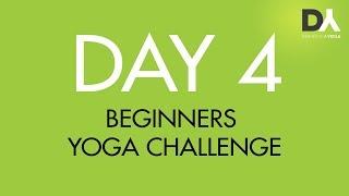 Йога челлендж для начинающих - День 4