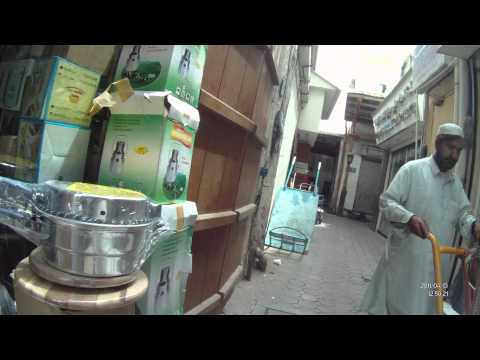 Dubai Gold Souq and Spice-n-Herbs Souq.MOV