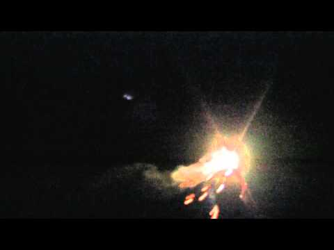 UARS Satellite Footage!! Spotted over Indiana (9-23-11)
