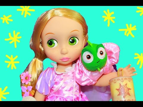 Disney Princess Tangled Rapunzel Doll Gift Set Toy Unboxing TOP TOYS Toddler Princess Toy Review