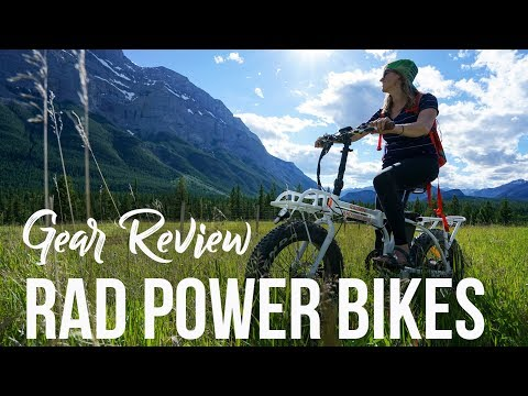 Rad Power Bikes - Electric Bike Review + Giveaway!