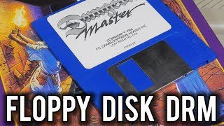 Dungeon Master -  Clever Floppy Disk Anti-Piracy | MVG