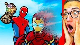 Reacting To THE BEST SUPERHERO ANIMATION! (Spiderman, Iron Man, Hulk, Avengers & more!)