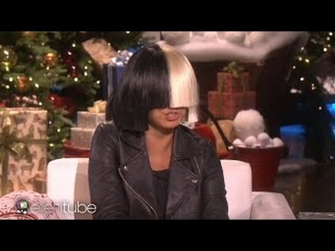 "SIA Takes OFF HER WIG For ELLEN DeGeneres & PERFORMS ""Alive"" SHOWING Her FACE For FIRST TIME {VIDEO}"
