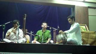 Sameer Rao and Abhijith Shenoy.k-thumri in raag mishra pilu