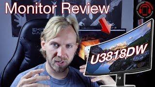 Dell Ultrasharp U3818DW Review & Langzeit Fazit [Deutsch/German]