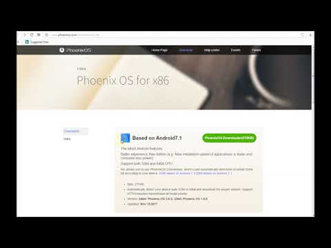 Phoenix OS | How to install Phoenix OS on P.D. | Gareebo Ka Saahara