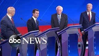 Democratic candidates debate: Resiliency