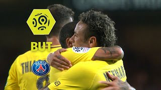 But NEYMAR JR (82') / EA Guingamp - Paris Saint-Germain (0-3)  / 2017-18