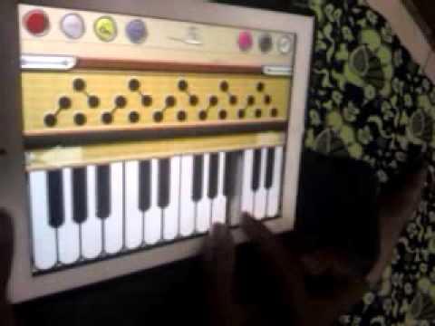 Playing Chinna Chinna Aasai video