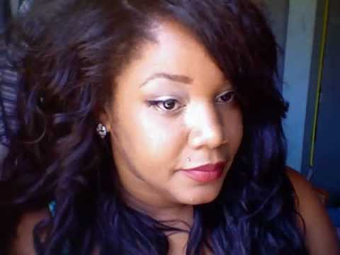 Crochet Braids Yaki Hair : Crochet braids with Yaki synthetic braid - YouTube