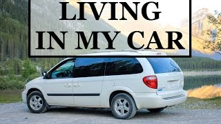 LIVING IN MY CAR - DAY 2 - INVERMERE TO NELSON