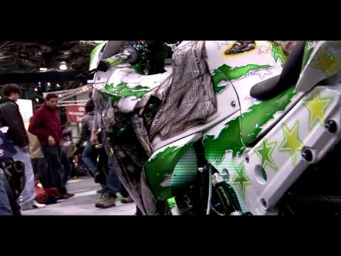Rickey Gadson & Steve Kehler Interview -  Kawasaki's Ninja ZX14 tribute Debut - Motorcycle Show