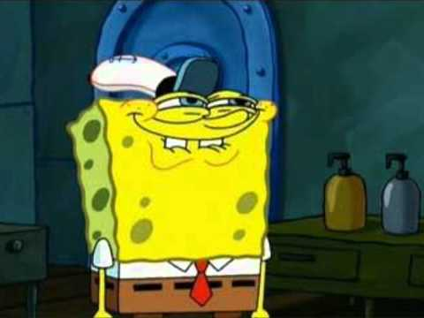 ▶ Spongebob's Face When he