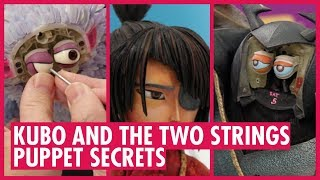 All the PUPPET SECRETS from animation Kubo and the Two Strings