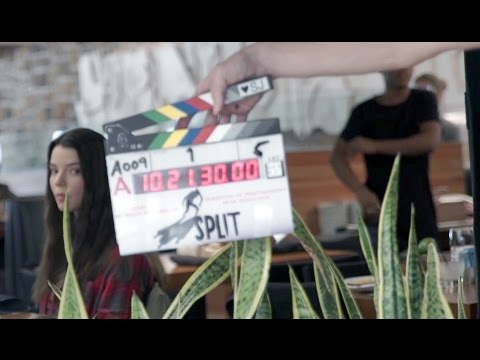 Go Behind The Scenes On SPLIT + Movie Clips
