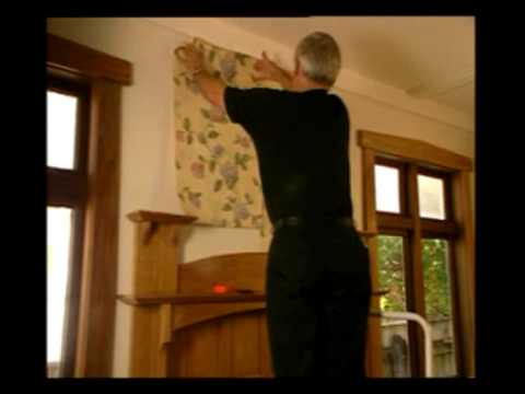 how to hang wallpaper part 3 where to start youtube