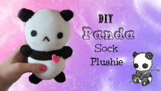 DIY Panda Plushie   Tiny Sparkles
