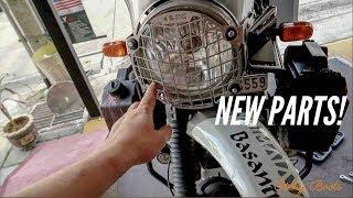 [Eps. 28] NEW PARTS! - Royal Enfield Himalayan BS4 - Bangkok, Thailand