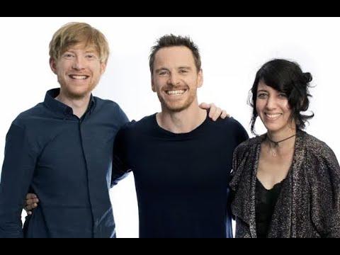Michael Fassbender, Carla Azar & Domhnall Gleeson: Frank Interview