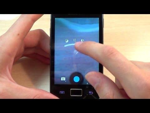 Instalar Cámara Android 4.3 en Galaxy Ace