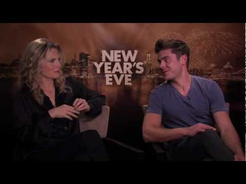 New Years Eve: Michelle Pfeiffer And Zac Efron Together Talk About The Movie video