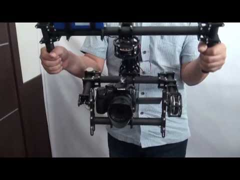 FlyCam 3-Axis Steadicam Rig for DSLR