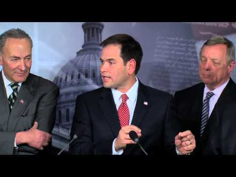 Rubio Discusses Bipartisan Principles On Comprehensive Immigration Reform