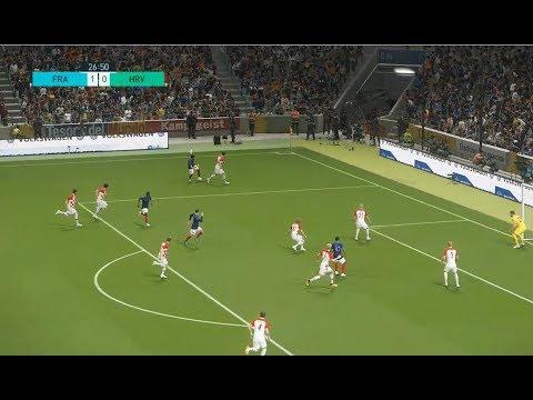 [HD] France vs Croatia | Match Coupe du Monde 2018 FIFA | 15 Juillet 2018 | PES 2018