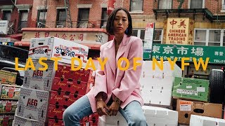 Last Day of New York Fashion Week Vlog | Aimee Song