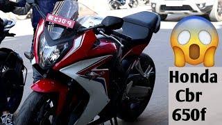 Riding 600cc bike for first time||Part-1||Cbr650f||motovlog ep 25||gabbarsujan||vlog