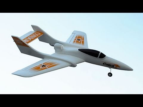 New SD Model 3Ch Condor RC Jet Review