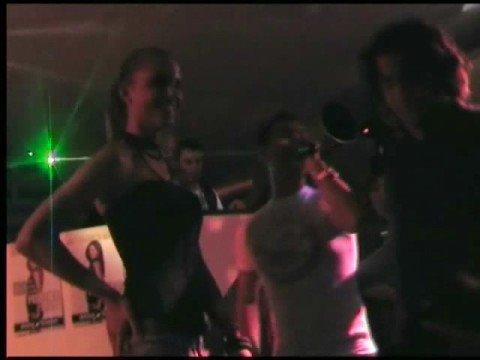 DJ BUM BUM & NINA SENICAR ( veline ) @ DISCOTECA SAMUEL (BG)