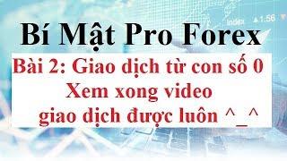 Bí mật Pro Forex  Bài 2 - Bắt đầu giao dịch FX Từ Con Số 0 Hướng dẫn chọn sàn Forex Cài Đặt MT4