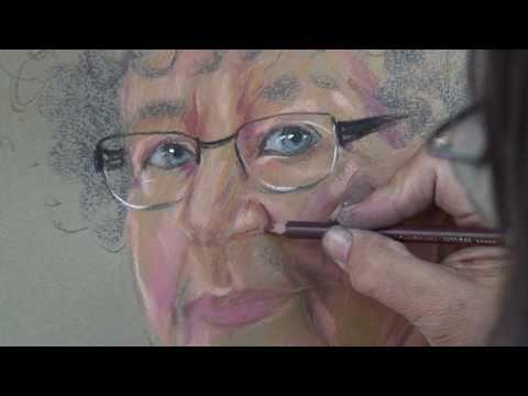 Montmartre pastel portrait tutorial featuring agnes fabricius 10 01