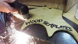Plasma Cutter Templates - MADE FROM WOOD !!?!?!?