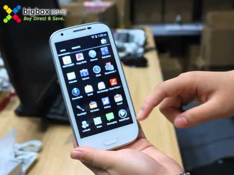 Bigboxsave.com Reviews S3 GT-i9300 Smartphone ANDROID 4.0.4 MTK6577