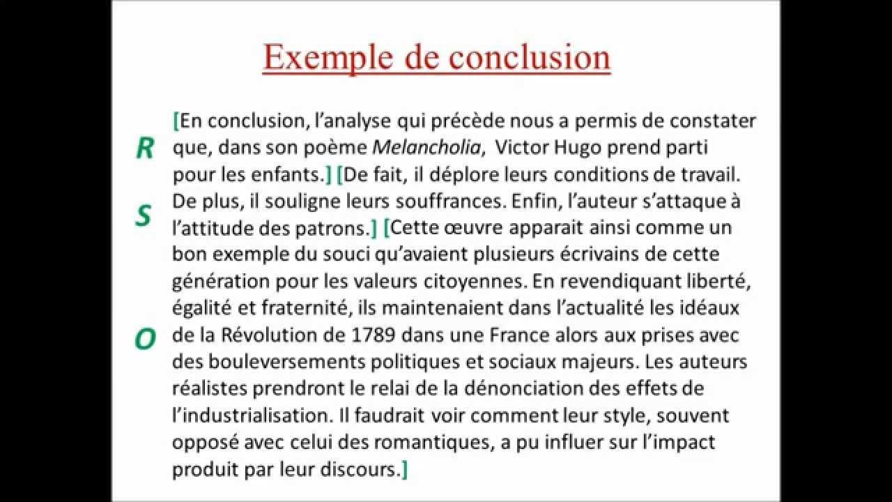 dissertation explicative conclusion