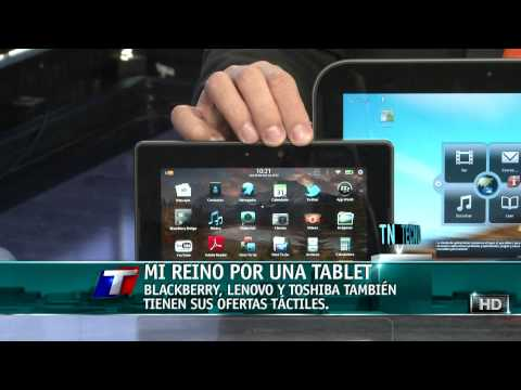 TN Tecno 146-2 Tablets Lenovo, Toshiba y Blackberry Playbook