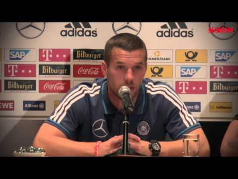 Podolski marzy o tym, by Niemcy i Polacy awansowali na EURO