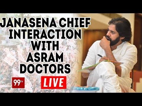Pawan Kalyan Meeting with Doctors Live | Eluru Porata Yatara | 99 TV Telugu