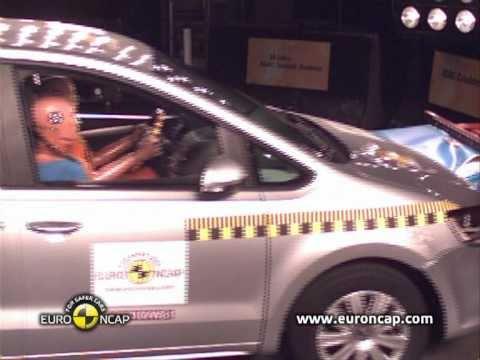 Краш-тест Volkswagen Sharan Euro NCAP 2011