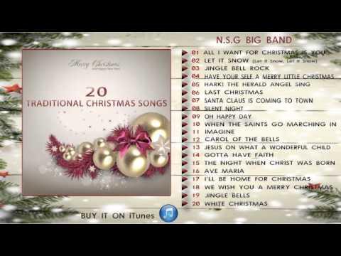 20 Traditional Christmas Songs - N.S.G. Big Band