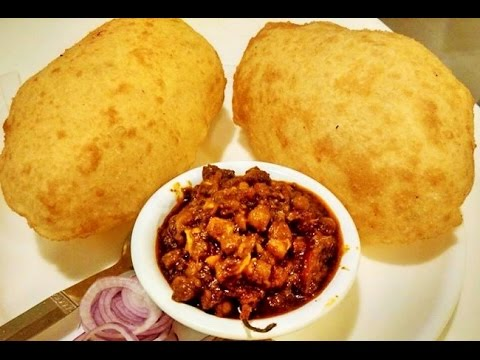 Chole Bhature ( Bhatura recipe with quick Chole Masala)