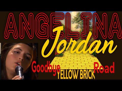 Angelina Jordan - Goodbye Yellow Brick Road - REACTION